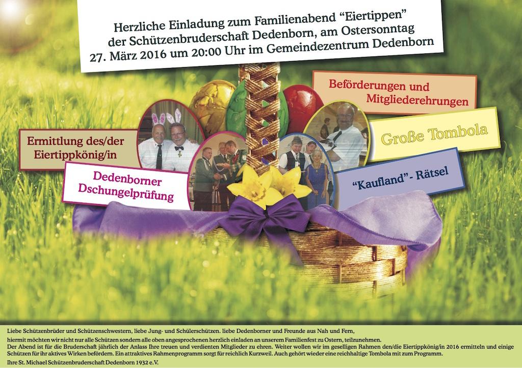 Einladung Eierrippen 2016