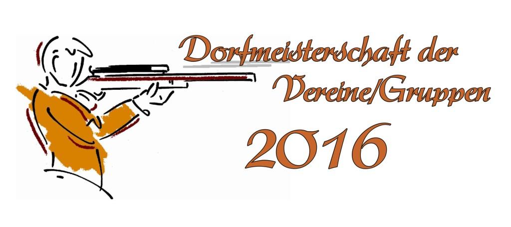 2016 Dorfmeisterschaft Titel