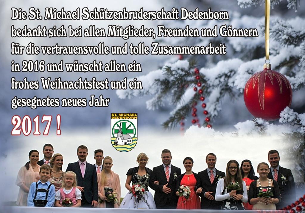 Weihnachtsgrüße 2016