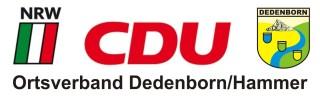 CDU OV Dedenborn-Hammer