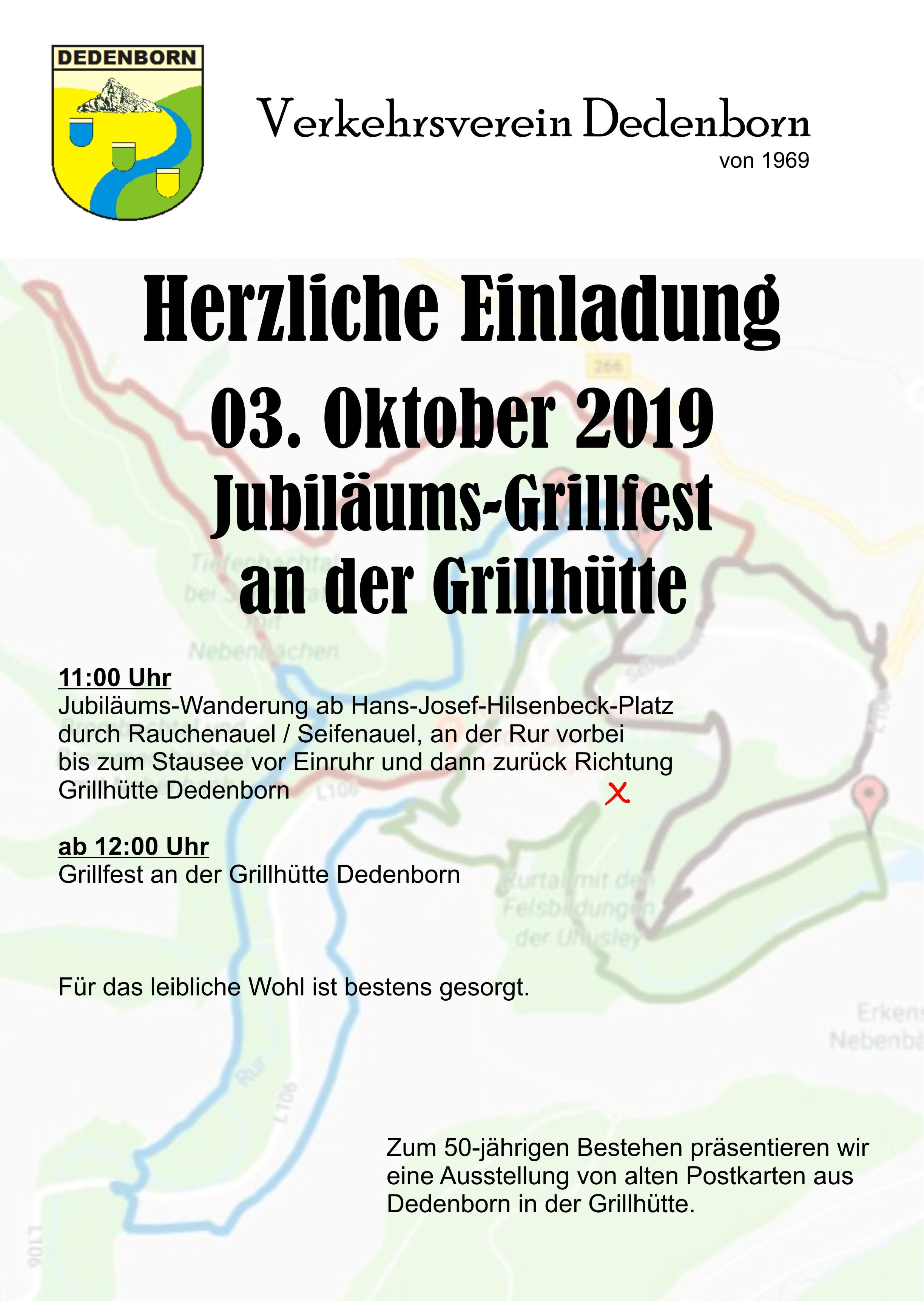 Einladung Grillfest